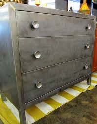 vtg 1940 50s simmons furniture metal medical. norman bel geddes for simmons furniture co three drawer metal chest with shiny round pulls vtg 1940 50s medical