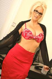 Blonde milf wearing glasses fucked in her office Pichunter