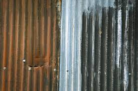 sheet corrugated rust colors metal rusty texture