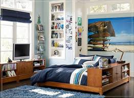Bedroom Cool Tween Boys Bedroom Ideas With Nice Wood Bed Frame In - Boys bedroom idea