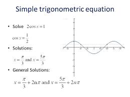 simple trigonometric equation