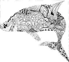 Small Picture Printable 24 Geometric Animal Coloring Pages 9782 Cool Designs