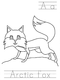 Artic Fox Worksheet Colouring Page artic fox worksheet colouring page happy colouring on beethoven worksheet