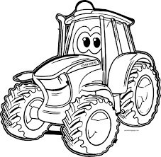 Small Picture printable coloring pages john deere tractor maelukecom free