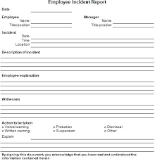 Free Incident Report Templates 7 Template Word Filename Rightarrow
