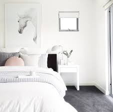 white carpet. @thehiredhome more white carpet