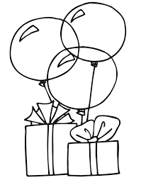 Small Picture Balloons Coloring Pages
