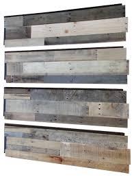 distressed wood wall art reclaimed wood wall panels set of 4 rustic wall panels