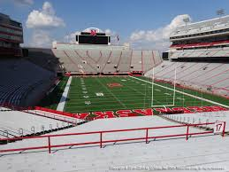 Nebraska Cornhuskers Stadium Seating Chart Nebraska Memorial Stadium View From Endzone 17 Vivid Seats