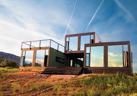 Shipping Container Homes Colorado In Shipping Container Homes The 8747 House  The James River