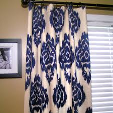 Navy And White Curtains Curtains Ikat Blue Curtains Designs Navy Blue Ikat Designs
