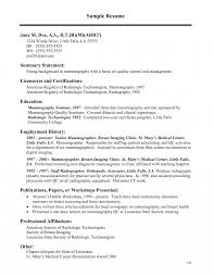 Medical Technologist Resume Philippines Objectivees Free Template
