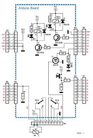 android switch interface by jos van kempen rs components new schematic diagram of the i o shield consisting of a pair of leds and relays an ntc thermistor a pushbutton and a pwm output a fet and an indicator
