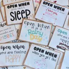 We did not find results for: Set Of 10 Inside Cards For Open When Letters Open When Etsy