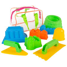 Beach Sand and Water Toy Set for Kids with <b>BPA Free</b> Molds ...
