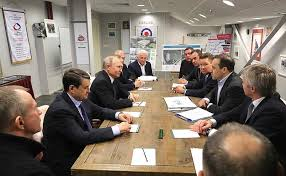 Visit to the <b>Ice Cube</b> Curling Centre • President of Russia