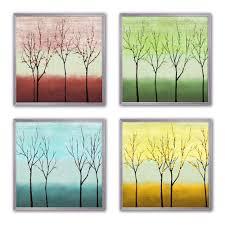 sp trees framed wall art