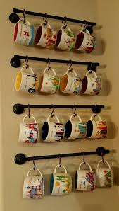Full Size of Countertops & Backsplash:fun And Creative Coffee Mug  Organization Ideas Fun Diy ...