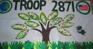 Girl scout troop banner