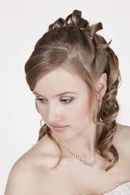 Peinados Lacios Semi Recogidos