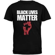 Black Lives Matter Black Adult T-Shirt: Clothing - Amazon.com