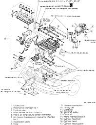 2002 Mazda 626 Engine Diagram