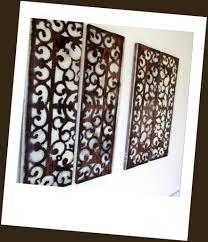 Wood Carved Wall Decor Wall Decor Panels Nine Geometric Fretwork Wall Decor Panels 3d