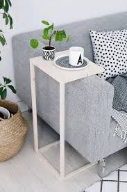 DIY End Tables with Step by Step Tutorials - Adjustable Side Table - Cheap  and Easy