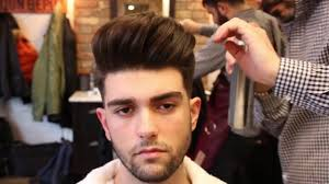 Hair Style With Volume Big Volume Quiff Mens Haircut And Hairstyle 2017 Youtube 6512 by wearticles.com