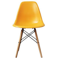charles and ray eames furniture. Charles Ray Eames Style DSW Side Chair Yellow - Natural Legs And Furniture H