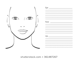 Face Chart Photos 20 423 Face Stock Image Results