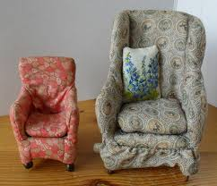 Westacre Village Furniture Sofas  Chairs By Barbara King Dolls - Dolls house interior