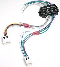 scosche cnn03 wiring interface allows you to connect a new car stereo and retain the factory amp in select 1994 up nissan and infiniti vehicles at