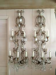chandeliers chandelier wall sconce best sconces images on big beaded candle holder