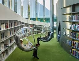 A futuristic library in France is like the city's living room (pictures)