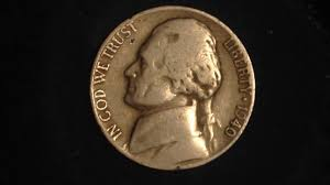 1940 D Jefferson Nickel Mintage 43 Million Value Starting At 45 Cents