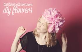 Paper Flower Headbands Tissue Paper Flower Headband Rome Fontanacountryinn Com