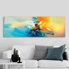 <b>HDARTISAN Wall Art</b> Abstract <b>Canvas</b> Painting GoldenPicture <b>Prints</b> ...