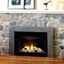 image gas fireplace insert modern metal paint sheet surround