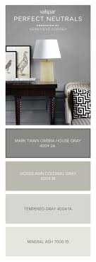Here's a tip from Genevieve Gorder: Mark Twain House Ombra Gray is dark  enough to be your grounding color, light enough to be your neutral.