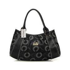 ... wholesale coach waverly logo large black satchels dmr f6d02 adc8d ...