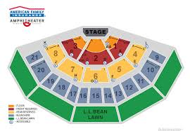 48 Competent Marcus Ampitheater Seating Chart