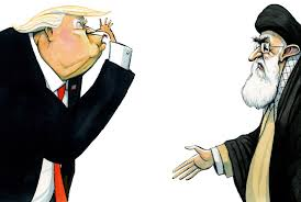 Image result for trump in Iran