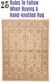 25 Rules to Buying a Hand Knotted Rug | Rugknots \u2013 RugKnots |