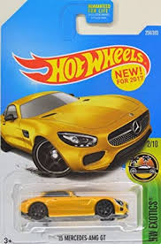 I did my bank approval and then contacted the dealer and they said the price were wrong. Amazon Com Hot Wheels 2017 Hw Exotics 15 Mercedes Amg Gt 256 365 Yellow Toys Games