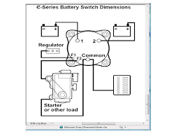 wiring a battery switch the hull truth boating and fishing forum 3 battery boat wiring diagram at Boat Battery Switch Wiring Diagram
