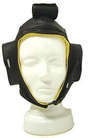 eha070 flying helmet leather with chamois