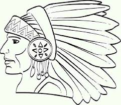 Small Picture Printable Native American Coloring Pages