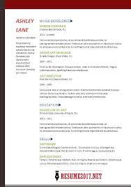 Free Resume Templates 2017 Amazing 1210 Resume 24 Examples Simple Resume Template