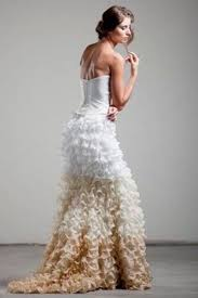 2014 2015 wedding dress trends ombre wedding gowns dipped in